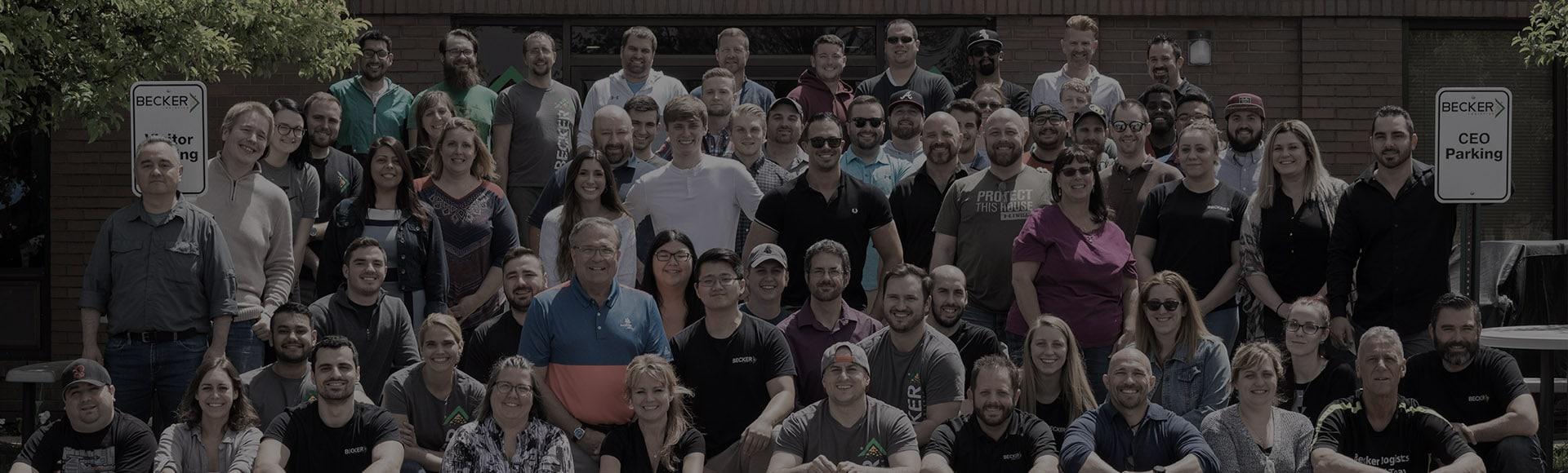 Becker Logistics team