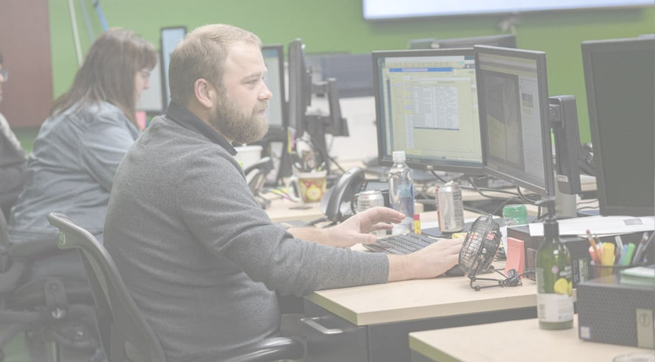 Becker Logistics associate delivering the best service