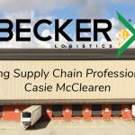 Becker Logistics Blog Young Supply Chain Professionals: Casie McClearen